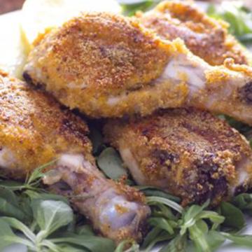 Ricetta Cosce di pollo croccanti