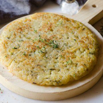 Torta Patate padella