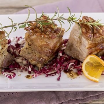Ricetta Pancetta Maiale croccante