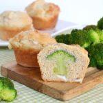 Ricetta Muffin con cuore di Broccolo