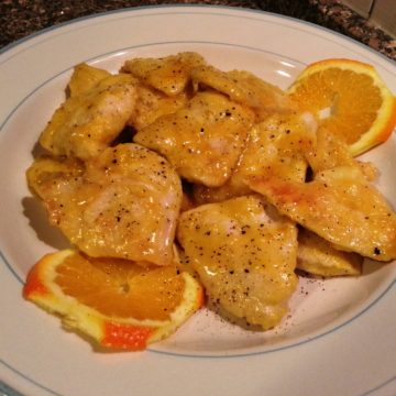 Ricetta Petto di Pollo all'arancia